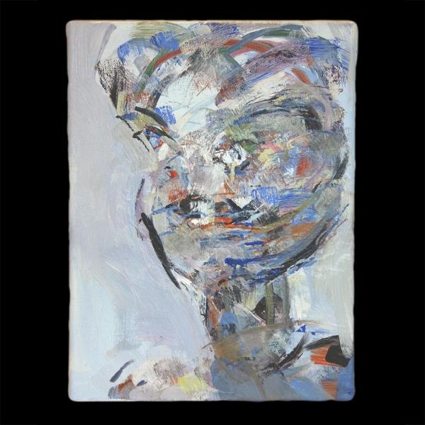 head of a woman (b)