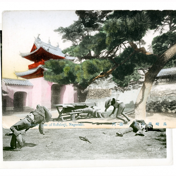 temple gate showdown