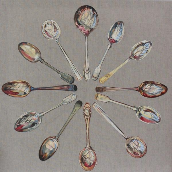 spoons-clock