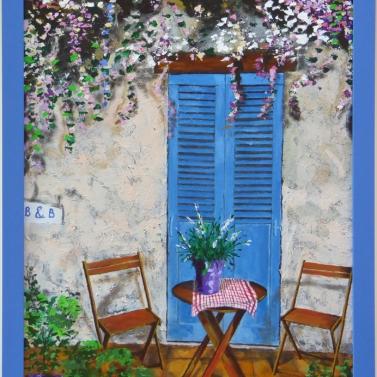 b&b door in provence