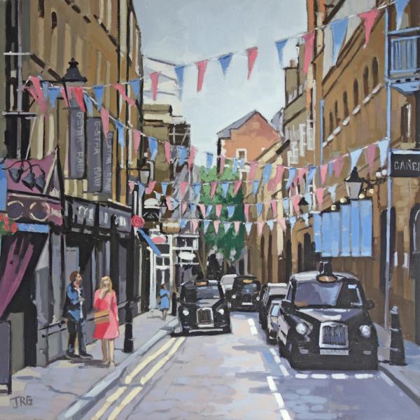 Summer's Day, Seven Dials, Covent Garden