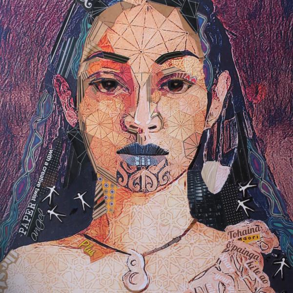 Paper Angel (Maori woman)