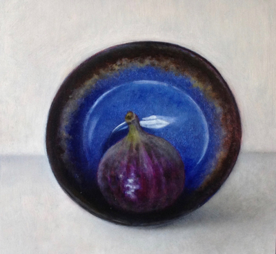 Fig in an Upturned Bowl