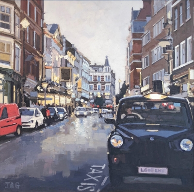 Taxi, St Martin's Lane