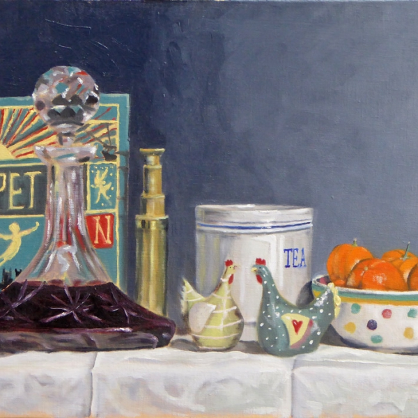 Still-Life-Decanter-and-Chickens