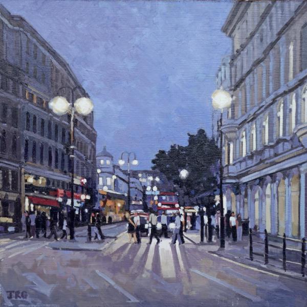Evening Rush, The Strand, London