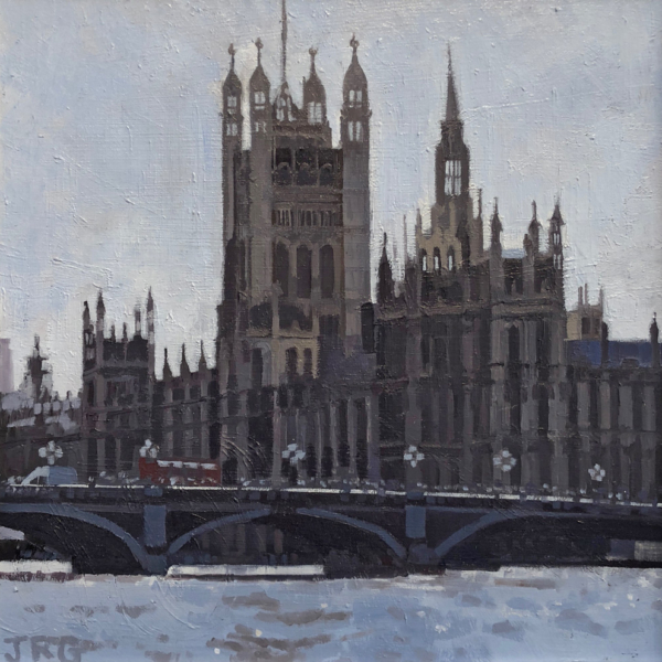 Houses of Parliament, Westminster, early morning