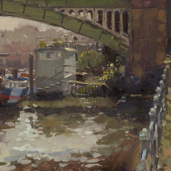 Richmond between the bridges