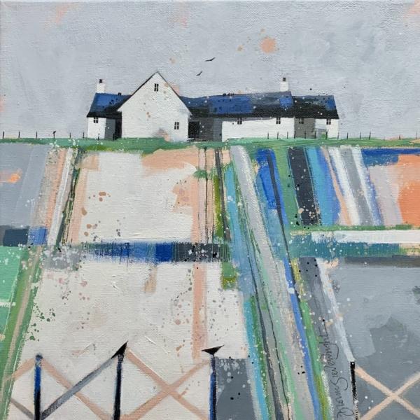 Frosty Fields by Dionne Sievewright