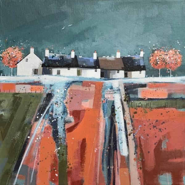 Lichen Cottages by Dionne Sievewright