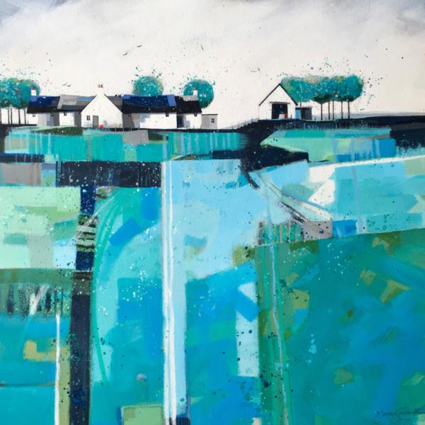 Sea of Fields by Dionne Sievewright