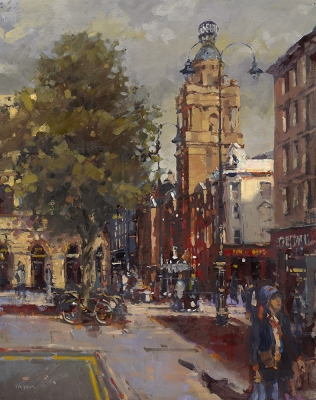 St Martin's Lane from Trafalgar Square