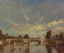 Early morning, Hampton Court Bridge